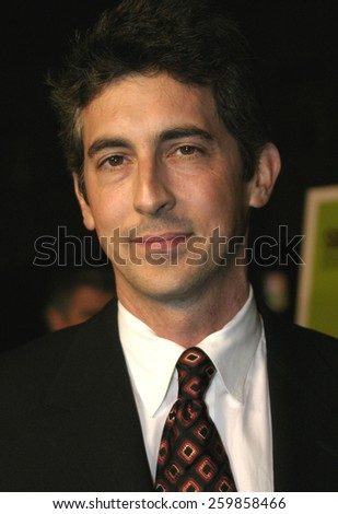 """Alexander Payne at the """"Sideways"""" Los Angeles Premiere held at the Academy of Motion Pictures Arts and Sciences in Beverly Hills, California United States on October 12 2004. - stock photo"""