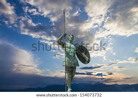Alexander the Great  - stock photo