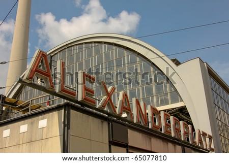 Alexanderplatz - stock photo