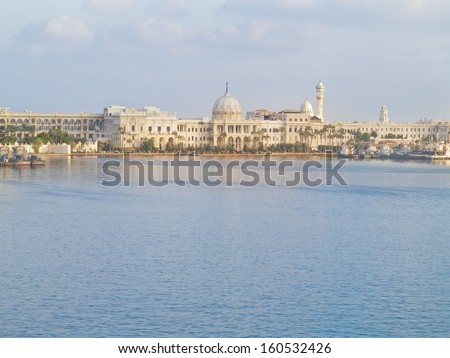 Alexandria (Egypt) was founded around a small Ancient Egyptian town 331 BC by Alexander the Great.