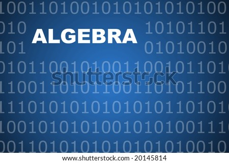 Algebra School Course Series Class Abstract Background