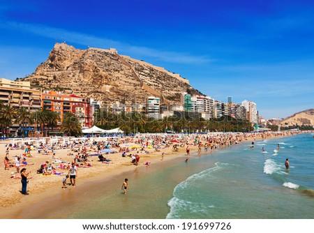 Alicante spain stock images royalty free images vectors - Stock uno alicante ...