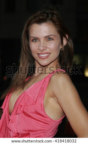 "Alicia Arden at the Los Angeles premiere of ""In Her Shoes"" held at the AMPAS Theatre in Beverly Hills, USA on September 28, 2005."