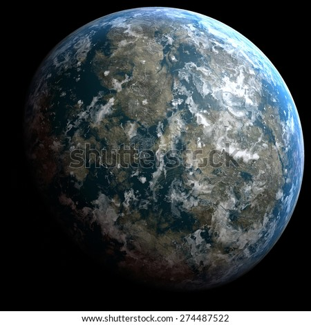 Planets In Space Stock Photos, Images, & Pictures ...