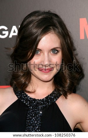 "Alison Brie  at the Premiere of ""Mad Men"" Season 2. Egyptian Theatre, Hollywood, CA. 07-21-08"