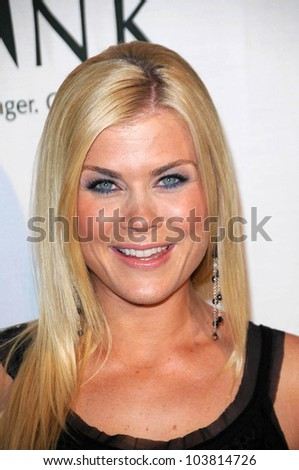 Alison Sweeney at the 'Rock A Little, Feed A Lot' Benefit Concert. Club Nokia, Los Angeles, CA. 09-29-09
