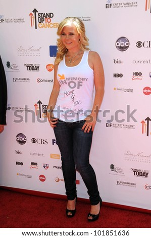 Alison Sweeney at the 2010 Stand Up To Cancer, Sony Studios, Culver City, CA. 09-10-10