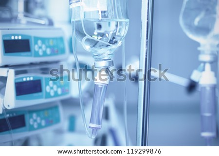 All for the treatment of the patient. - stock photo