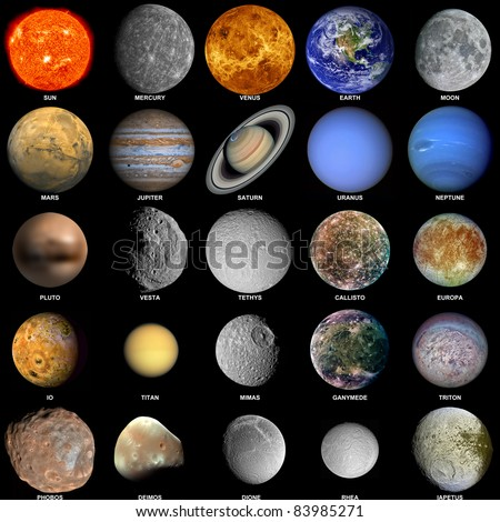photos of planets and moons - photo #14