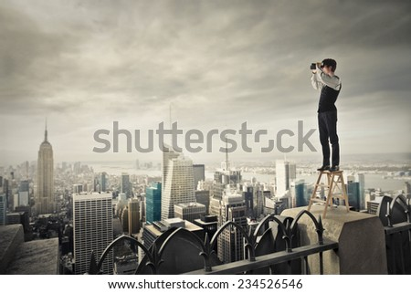 All over town  - stock photo