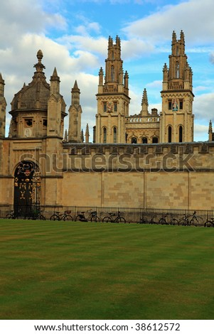 All Souls College 1438 - stock photo