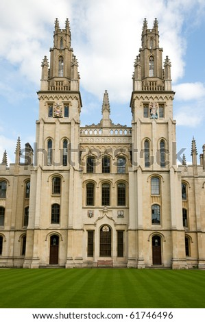 All Souls College - stock photo