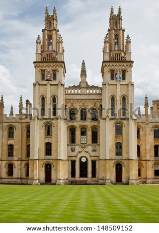 All Souls College, Oxford, UK