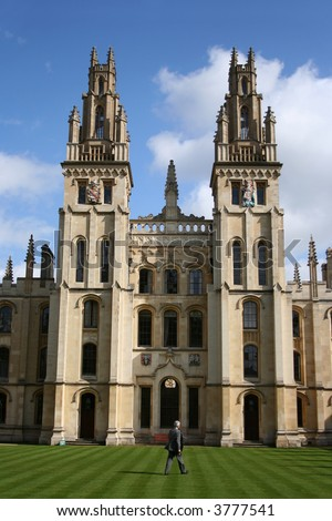 All souls college part of Oxford university