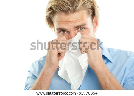 allergy - stock photo