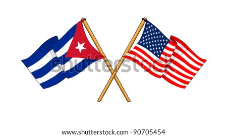 Alliance and friendship between Cuba and USA