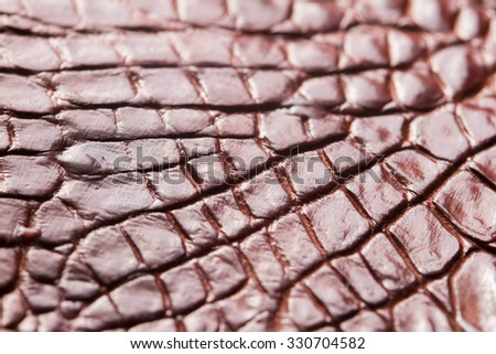 Alligator patterned background - stock photo