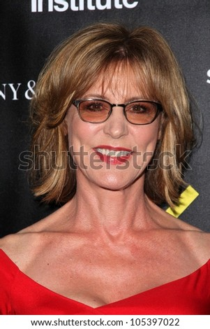 Allison Janney at the Sundance Institute Benefit Presented by Tiffany & Co., Soho House, Los Angeles, CA 06-06-12 - stock photo