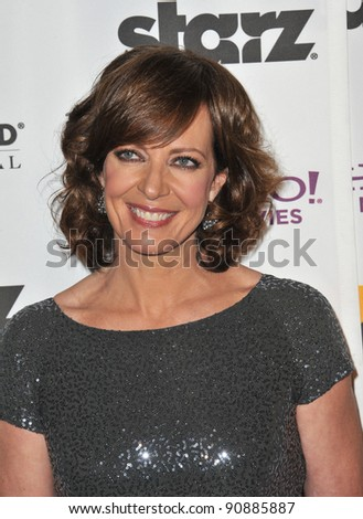Allison Janney at the 15th Annual Hollywood Film Awards Gala at the Beverly Hilton Hotel. October 24, 2011  Beverly Hills, CA Picture: Paul Smith / Featureflash