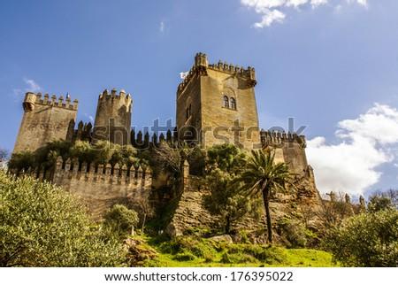 Almodovar del Rio, Cordoba Spain. Artistic and Monumental Heritage - stock photo