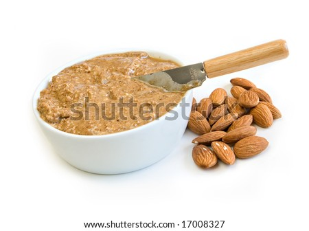 almond butter - a healthy alternative to peanut butter