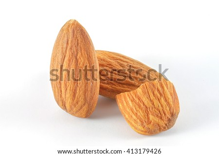 almond isolated