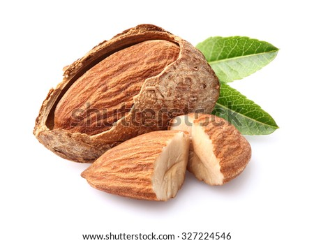 Almonds kernel - stock photo