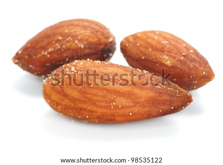 Almonds, salt and baking