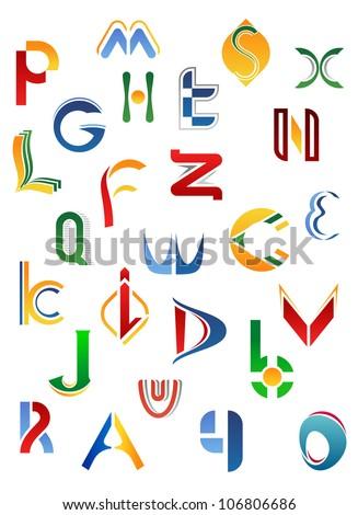 set alphabet symbols elements letter r stock vector 86859745 shutterstock