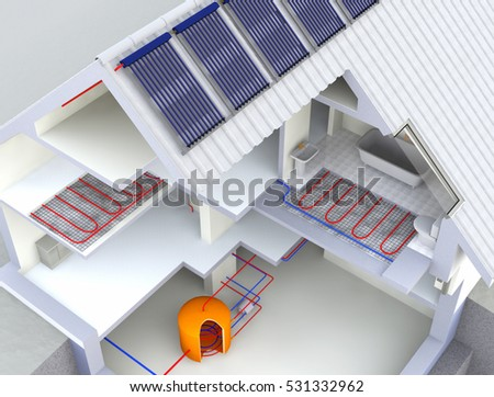 Heat stock images royalty free images vectors for Alternative heating systems for homes