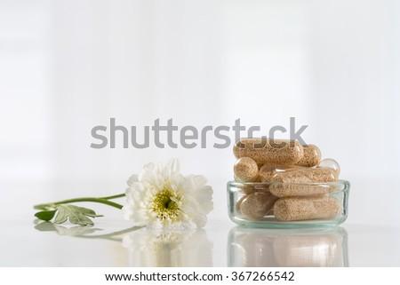 Alternative medicine concept - stock photo
