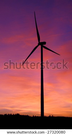 alternative power produced by the wind and air