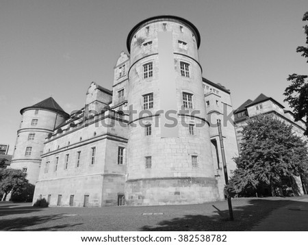 Altes Schloss (Old Castle) in Stuttgart, Germany