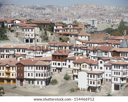 Altstadt Ankara - stock photo