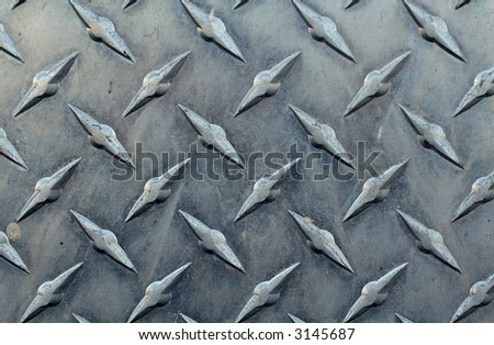 Aluminum Background - stock photo