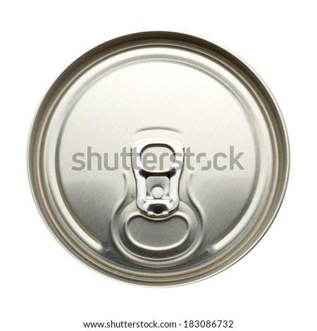 Aluminum can - stock photo