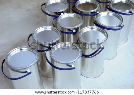 Aluminum Cans in factory
