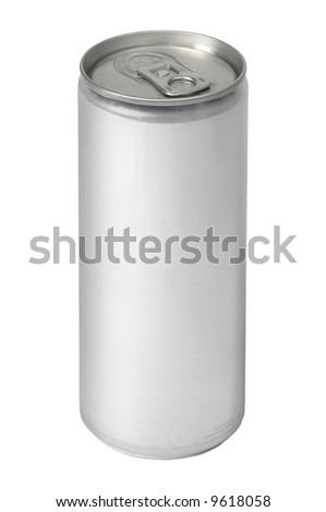 Aluminum Drink Can - 250ML - stock photo