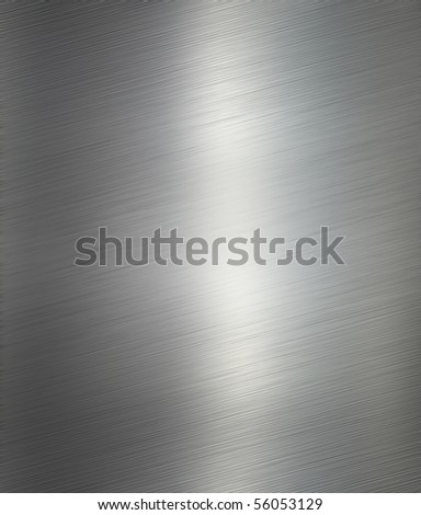 aluminum metal background - stock photo