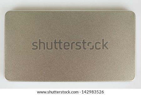 aluminum metal cover/aluminum metal - stock photo