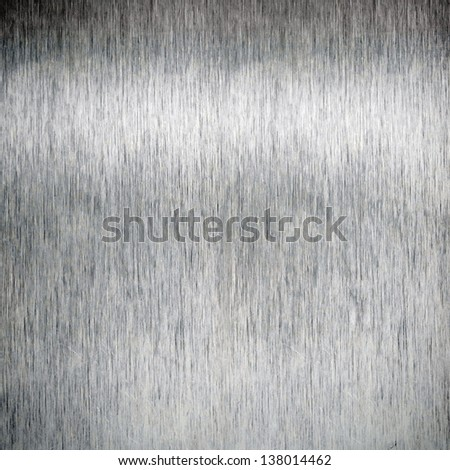 Aluminum metal plate background - stock photo