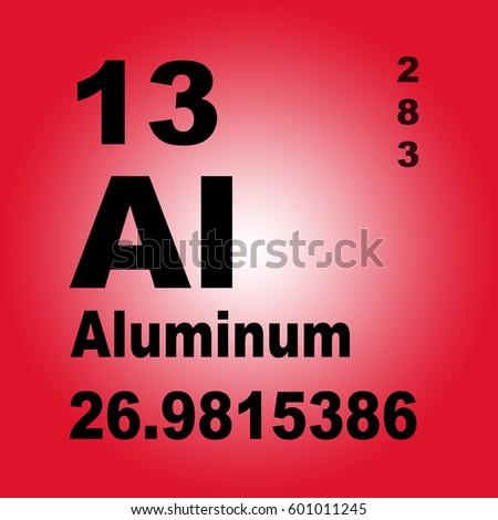 Aluminum periodic table elements stock illustration 601011245 aluminum periodic table of elements urtaz Gallery