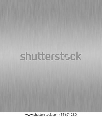Aluminum Plate.grey polished texture - stock photo