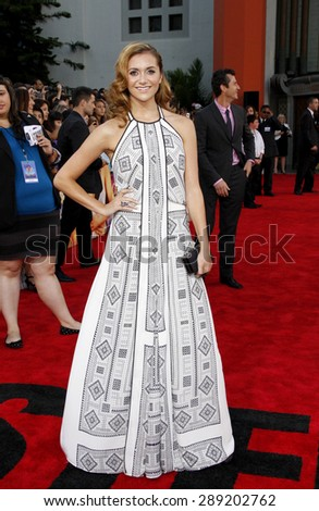 Alyson Stoner at the Los Angeles premiere of 'Step Up Revolution' held at the Grauman's Chinese Theatre in Hollywood on July 17, 2012.  - stock photo