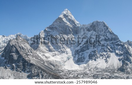 Ama Dablam mountain, Nepal