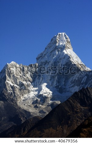 ama dablam - Nepal - stock photo