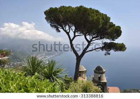 Amalfi Coast, Ravello, Italy, Europe - stock photo