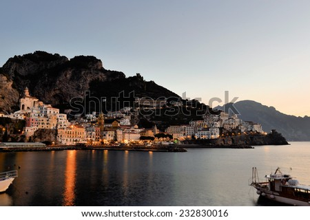 Amalfi, costiera amalfitana, Naples, Italy - stock photo