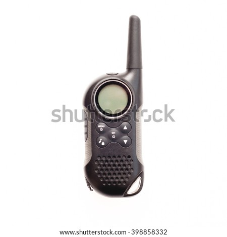 Amateur Radio Device - Concept of Communications - stock photo