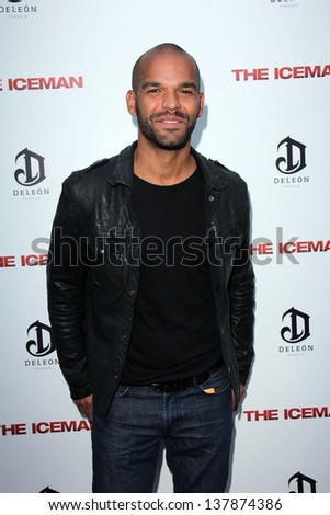 "Amaury Nolasco at ""The Iceman"" Red Carpet, Arclight Theater, Hollywood, CA 04-22-13"